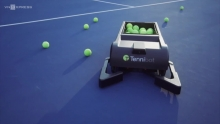 video may nhat bong tennis tu dong