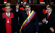 venezuela hon loan chinh tri de doa dau khi