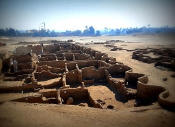 """Tìm thấy """"thành phố vàng đã mất"""" 3.500 năm tuổi"""