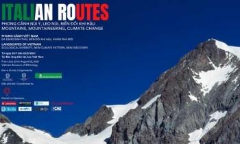 Khai mạc triển lãm 'Phong cảnh núi Ý' và 'Phong cảnh Việt Nam'