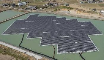 Nhật Bản đi đầu về điện mặt trời nổi