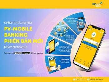 pvcombank chinh thuc ra mat phien ban moi cua ung dung pv mobile banking