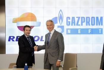 gazprom neft va repsol mo rong quan he doi tac o nga