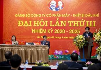 pv machino to chuc dai hoi dang bo lan thu iii nhiem ky 2020 2025