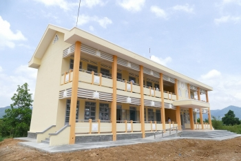 Nghiệm thu, khánh thành trường Tiểu học Ngô Gia Tự (Đắk Lắk) do BSR tài trợ