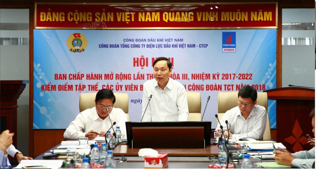 cong doan pv power to chuc hoi nghi ban chap hanh lan thu 4 nhiem ky 2017 2022