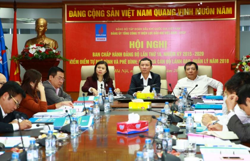 pv power to chuc hoi nghi ban chap hanh dang bo lan thu 16