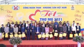 Tết thợ mỏ 2021 trọn một niềm vui
