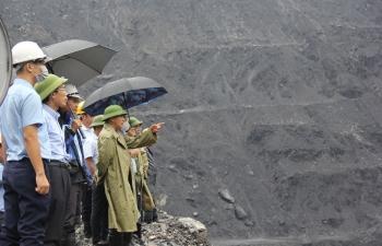 Phó Tổng Giám đốc TKV Vũ Anh Tuấn: Khẩn trương khắc phục, tăng cường chống mưa bão