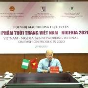 Sôi nổi giao thương về thời trang giữa Việt Nam và Nigeria