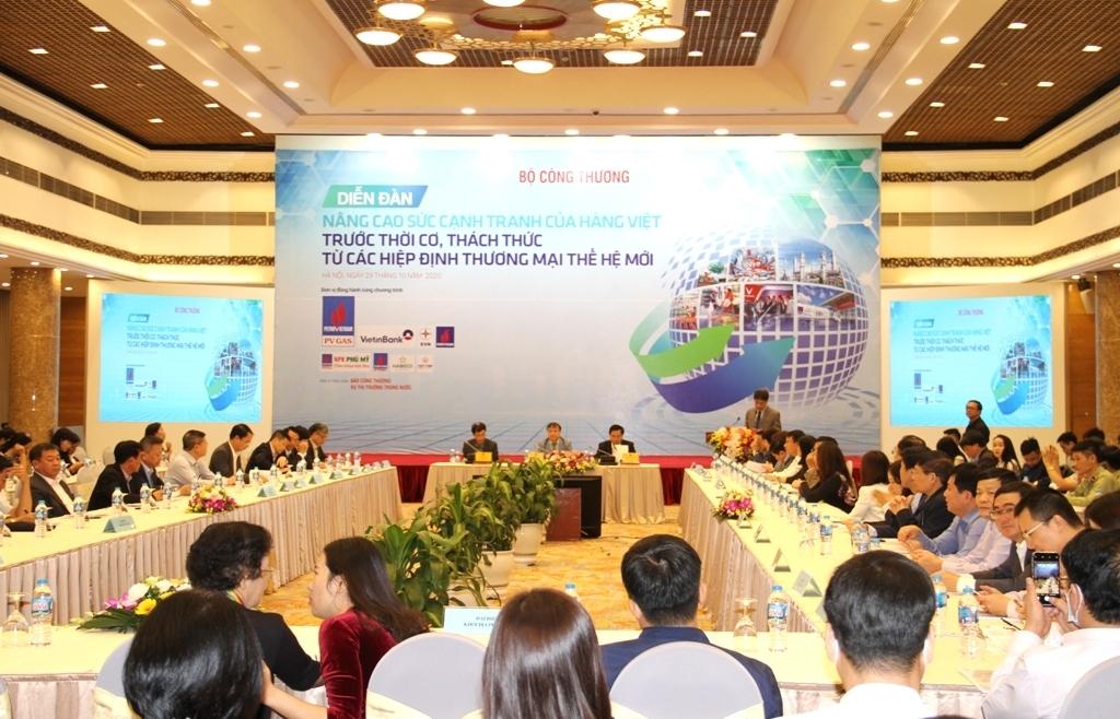 Làm thế nào để nâng cao sức cạnh tranh hàng Việt?