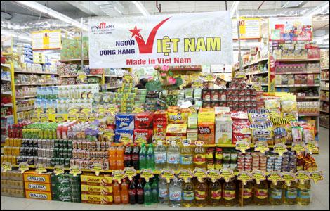 """Hàng Việt bị """"lấn át"""" trên thị trường nội địa"""