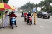 Tăng cường kiểm soát trật tự an toàn giao thông gắn với phòng chống dịch Covid-19