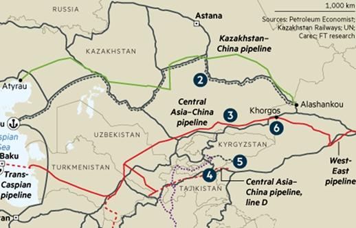 Cơ sở hạ tầng đường ống dầu khí trong chính sách năng lượng của Trung Quốc và lợi ích của Nga (phần II)