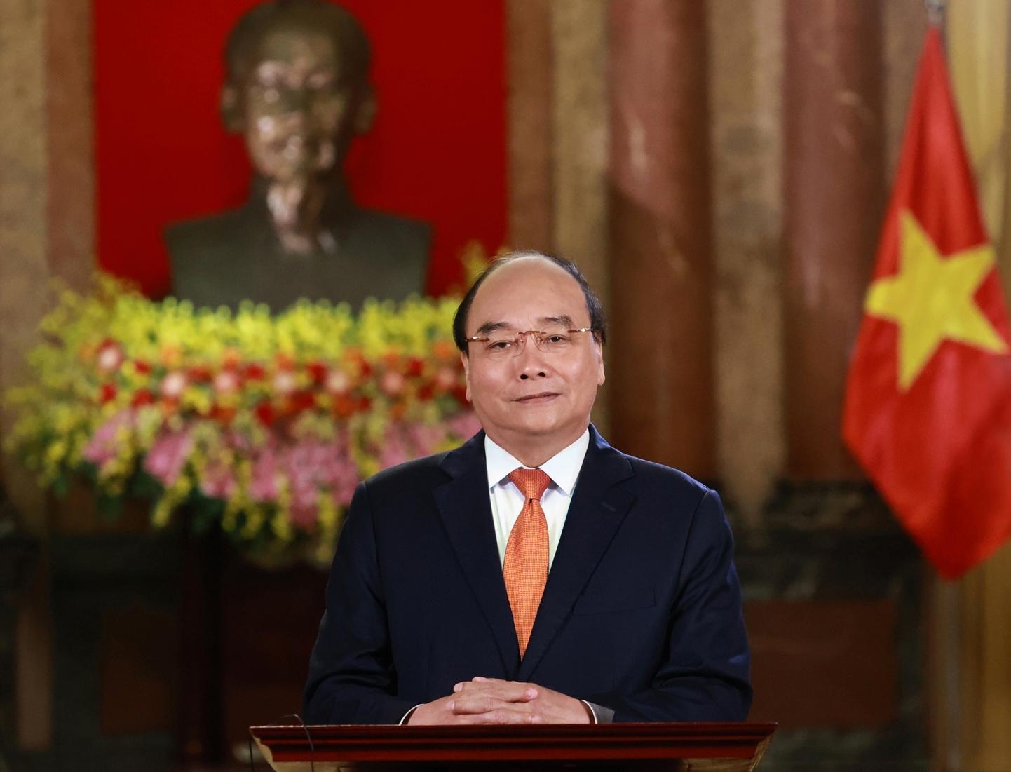 Chủ tịch nước Nguyễn Xuân Phúc gửi thư đến Tổng thống Liên bang Nga Vladimir Putin