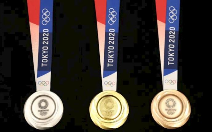 Điều đặc biệt đằng sau những tấm huy chương Olympic Tokyo 2020