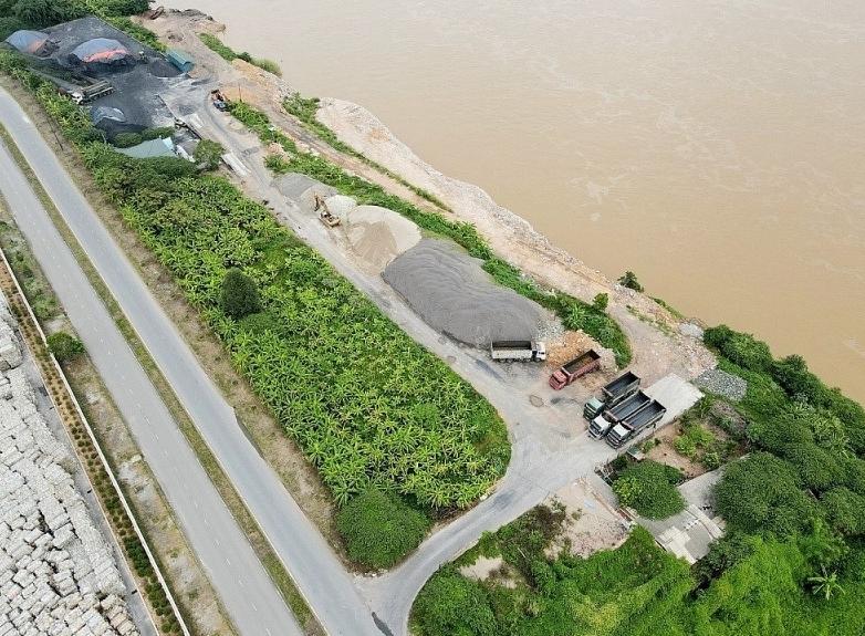 Phú Thọ: Xử phạt 250 triệu đồng doanh nghiệp tư nhân Bình Sơn do vi phạm trong lĩnh vực đê điều