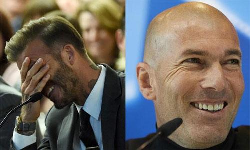 Beckham mong Real đánh bại Liverpool