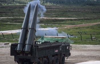 Nga đưa tên lửa Iskander đến biên giới Ukraine