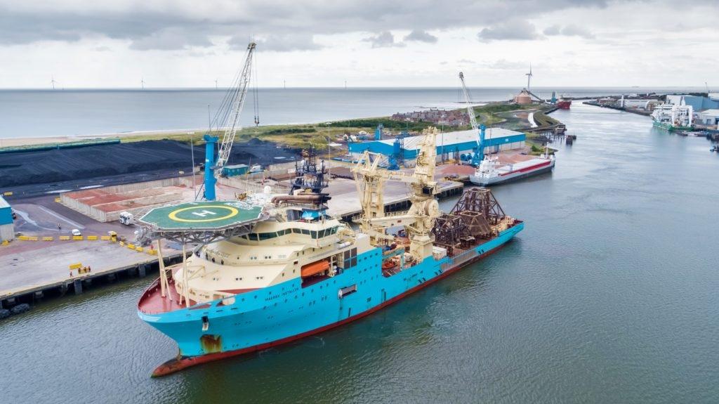 Maersk Supply giành được hợp đồng dịch vụ tại Cameroon