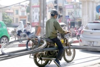 Phương tiện cũ nát và vấn đề ô nhiễm không khí