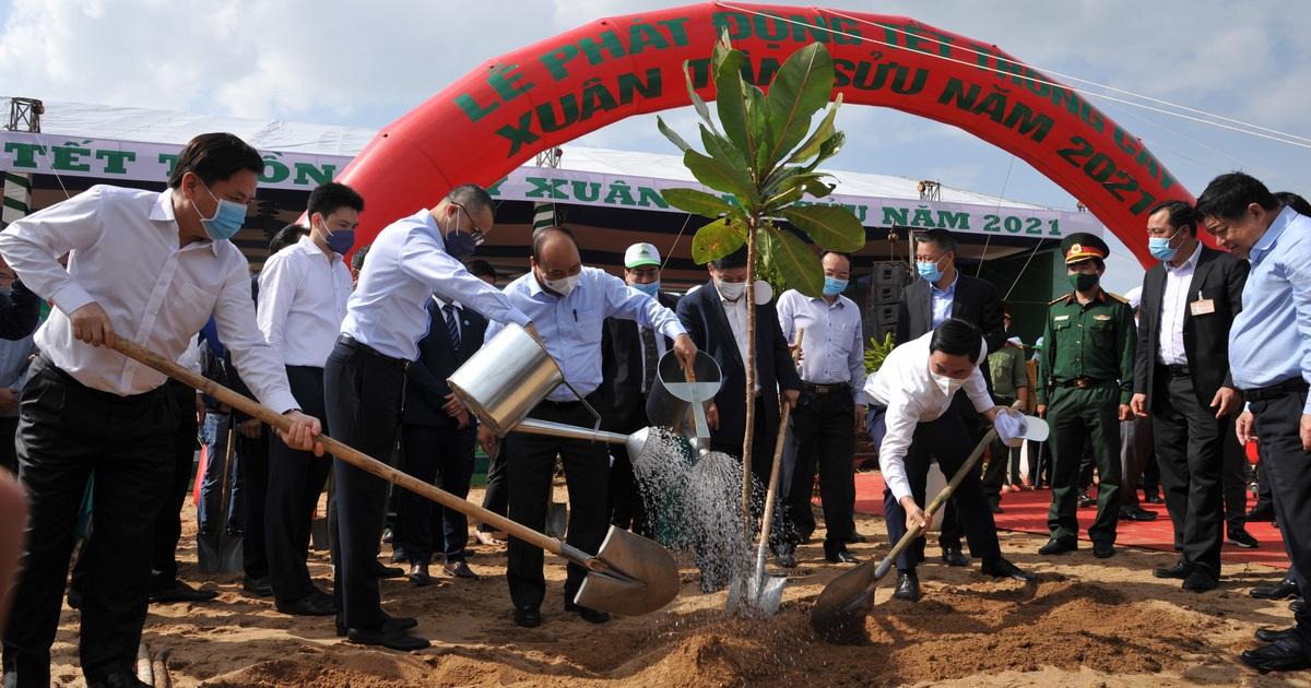Thủ tướng: Trồng 1 tỷ cây xanh vì một Việt Nam xanh