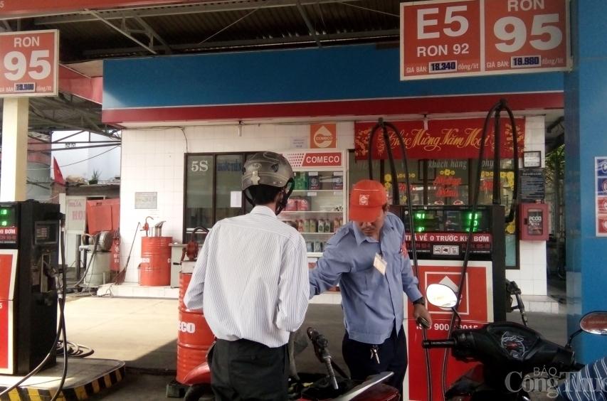 Nhiều địa phương tăng cường kiểm tra hoạt động kinh doanh xăng dầu