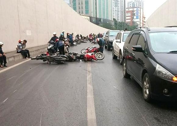 Hà Nội giảm 8/18 điểm đen về tai nạn giao thông