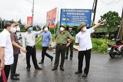 Hà Tĩnh: Cách ly y tế xã Thạch Kim và một phần thị trấn Lộc Hà từ 12h trưa nay 12/6