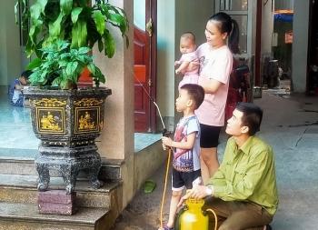 Hạnh phúc gia đình là điểm tựa của người thợ mỏ trẻ