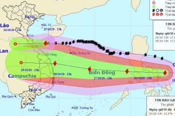 Bão số 8 suy yếu, bão số 9 di chuyển nhanh, liên tục tăng cấp