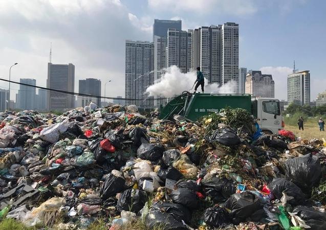 Hà Nội thúc tiến độ bồi thường giải phóng mặt bằng bãi rác Sóc Sơn