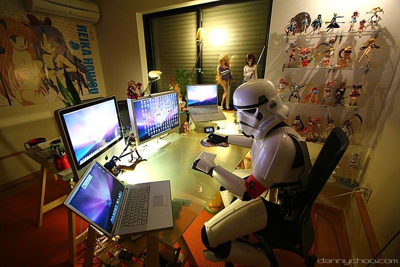 Phòng làm việc khiến dân yêu truyện tranh thích mê