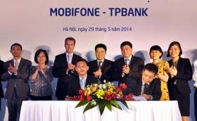 mobifone va tpbank cong bo the dong thuong hieu