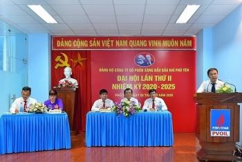 dang bo pvoil phu yen to chuc thanh cong dai hoi lan thu ii nhiem ky 2020 2025