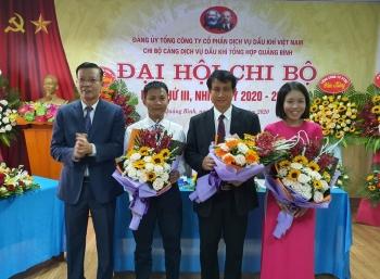 ptsc quang binh to chuc thanh cong dai hoi chi bo lan thu iii nhiem ky 2020 2025