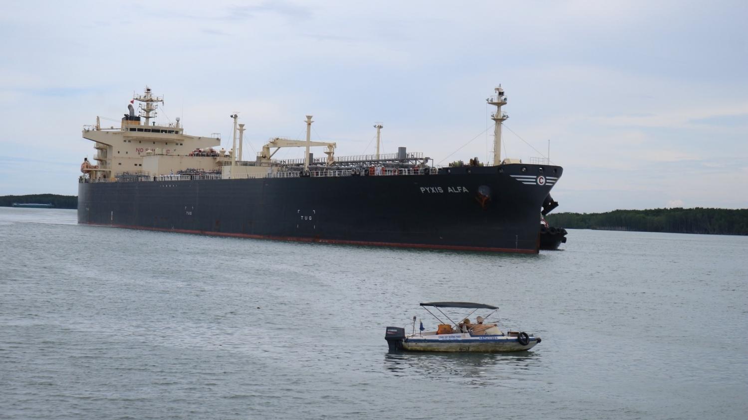 PVGas Trading tiếp nhận chuyến hàng LPG lạnh đầu tiên từ nhà cung cấp Saudi Aramco