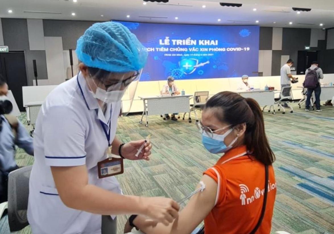 TP HCM: Thần tốc triển khai chiến dịch tiêm chủng lớn nhất với 836.000 liều vắc-xin Covid-19