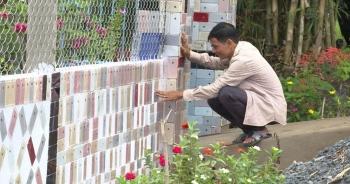 Độc lạ những căn nhà Việt có hàng rào được ốp bằng iPhone và tivi
