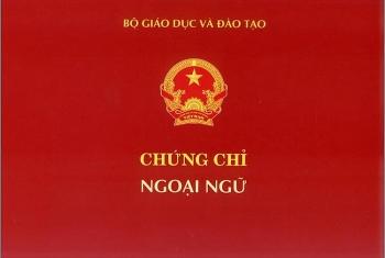 them mot truong dai hoc duoc cap chung chi ngoai ngu theo khung 6 bac