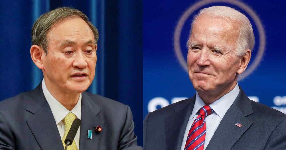 """Thủ tướng Nhật trở thành """"khách VIP"""" đầu tiên của ông Biden tại Nhà Trắng"""