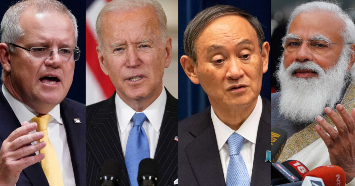 """Bộ Tứ ngầm siết """"vòng vây"""" đối phó Trung Quốc"""