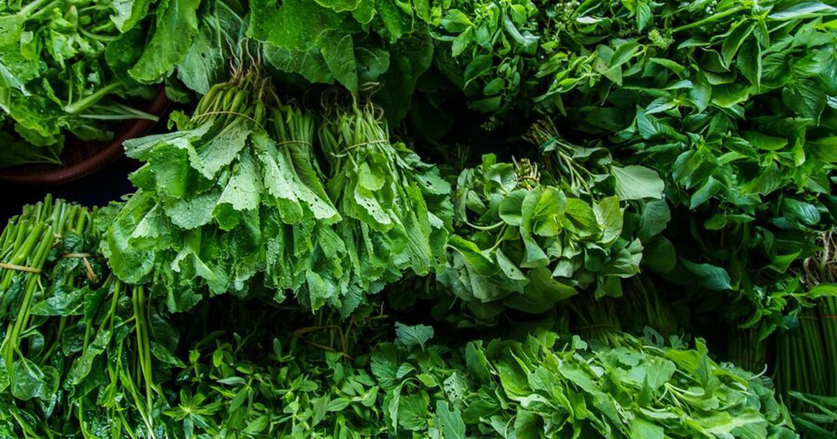 Những loại rau sẵn có ở chợ thuộc top đầu về giá trị dinh dưỡng