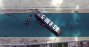 """Số phận 3,5 tỷ USD hàng hóa trên siêu tàu bị bắt giữ vì """"bít"""" kênh đào Suez"""