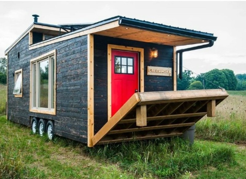 Những thiết kế nhà nhỏ thân thiện môi trường
