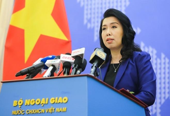 Việt Nam kiên quyết phản đối và yêu cầu Đài Loan hủy bỏ hoạt động diễn tập trái phép ở đảo Ba Bình