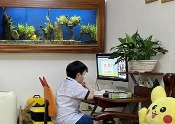 TP HCM: Trên 95% học sinh tham gia học trực tuyến