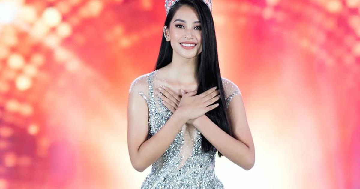 Trần Tiểu Vy nói gì về tân Hoa hậu kế nhiệm?