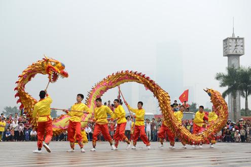 Lễ hội đường phố Hà Nội dịp Tết Dương lịch