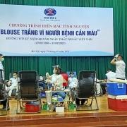 """Bệnh viện K tiếp nhận gần 400 đơn vị máu trong ngày hội """"Blouse trắng vì người bệnh cần máu"""""""